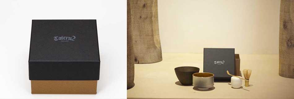 男前茶箱(ちゃばこ)|存在感のある茶箱をあなたへ tateru2 ブラックバージョン